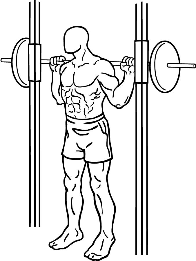 are smith machine squats safe