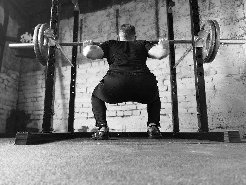 how to use squat rack machine